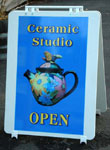 Ceramic Studio Sandwich Board