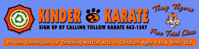 Kinder Karate - Outdoor Banner